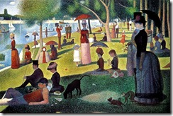 Georges Seurat - a PowerPivot artist before his time