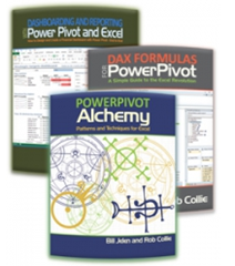 Power Pivot Book Bundle