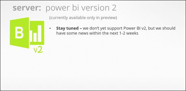 Power Update: Refresh any Power Pivot / Power BI Workbook, from Any Data Souce, and Publish to Any Location (Power BI v2 - TBD)