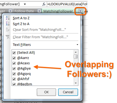 image thumb32 Counting Overlapping/Shared Twitter, Facebook, Instagram, etc. Followers