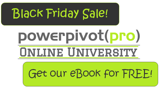 Gear Up For Black Friday Sale At PowerPivotPro