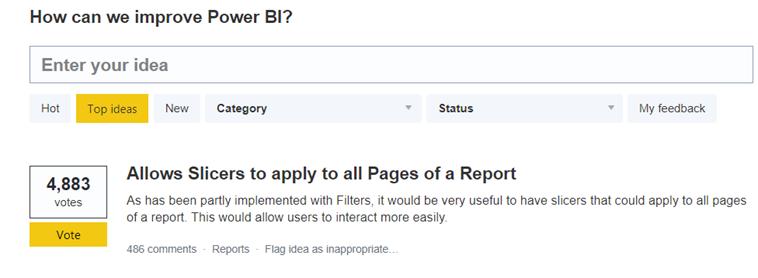 How can we Improve Power BI?