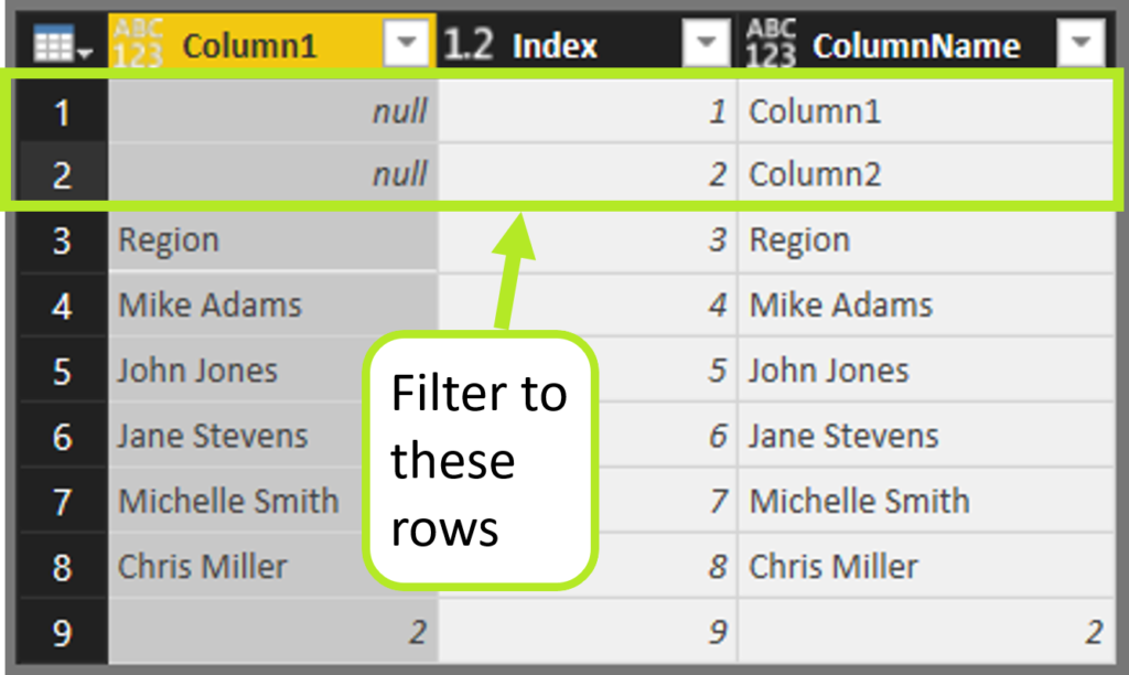 Nar Table 8 1 1024x612 Power Query (M)agic: Dynamically remove leading rows AND columns