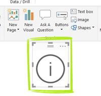 Info Box Step 1 Add Button thumb Power BI Feature Spotlight: Using Bookmark Buttons to Create Pop Up Windows